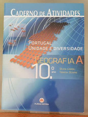 Caderno de atividades Geografia A - 10° ano