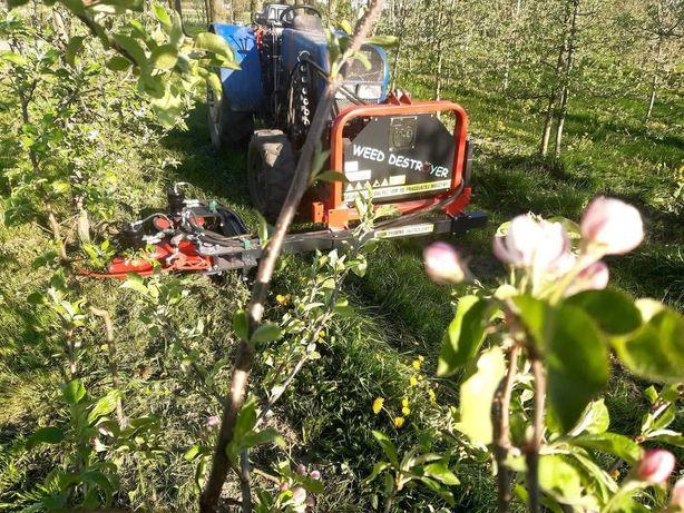 Automatyczny pielnik pod koronowy CWTSWEEDDESTROYR sadowniczy opielacz