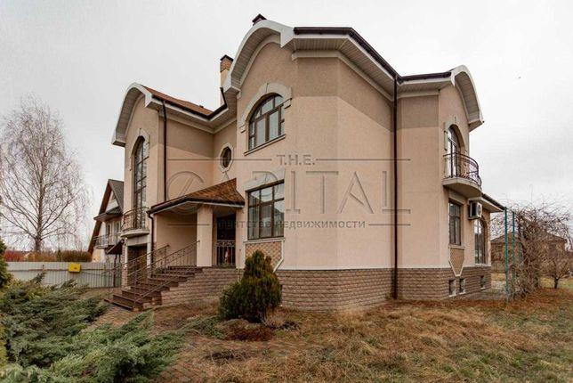 Продажа  3-этажного дома в с. Петропавловское, Бориспольский р-н