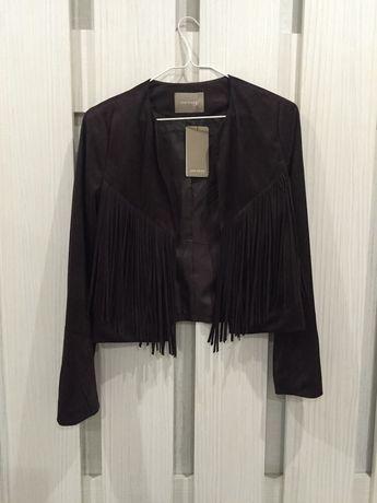 Крутой жакет пиджак с бахромой в стиле бохо Orsay куртка