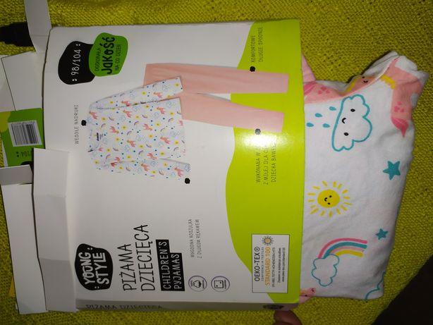 98/104 no w piżama na dziewczynkę