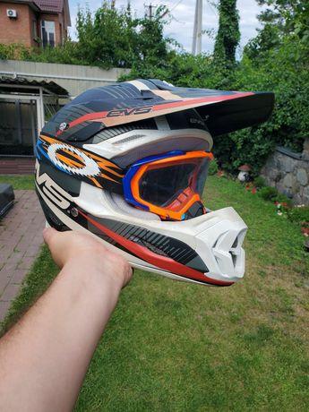 Мото шлем ендуро EVS
