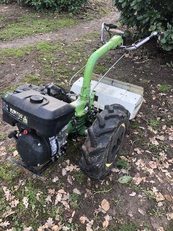 Ciągnik jednoosiowy FERRARI 90 glebogryzarka dzik traktorek lombardini