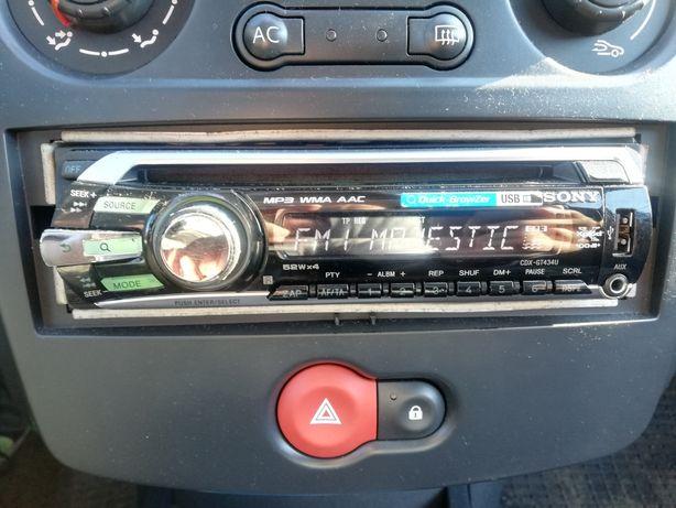 Radio Sony CDX-GT434U, USB 4x52W