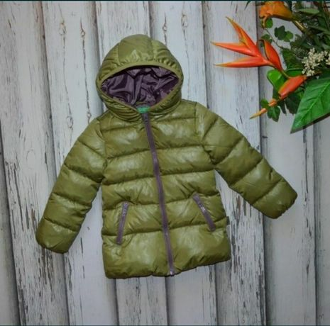 Детская зимняя куртка Benetton, пуховик