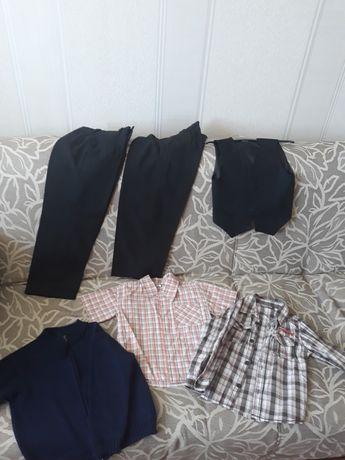 Брюки, жилет и рубашки,кофта
