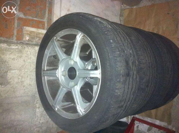 jantes 15 com pneus 195/55/15