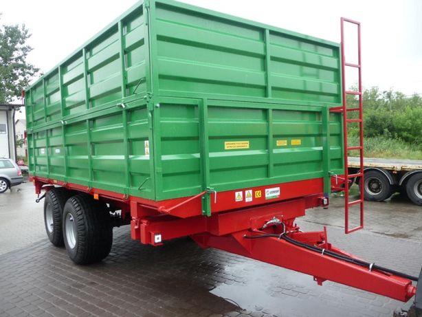 Przyczepa rolnicza przyczepy GOMAR tandem G 107 7, 9 ton nowa