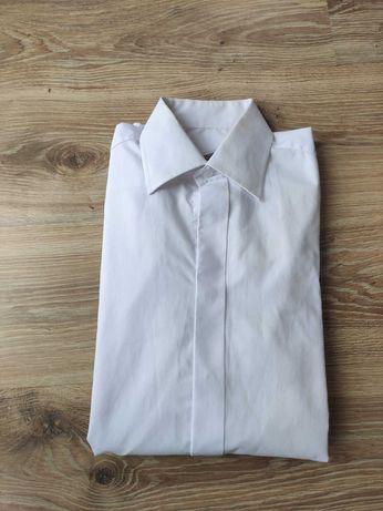 Slimowana koszula ślubna