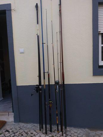 Canas de pesca desportiva