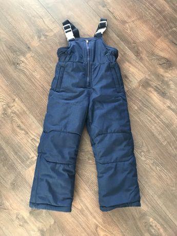 Теплые зимние термо штаны на 4-6 лет