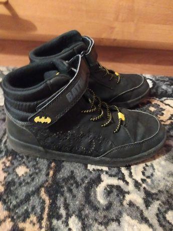 Утеплённые ботинки джордж, 33-34 р., бэтмен, мигают