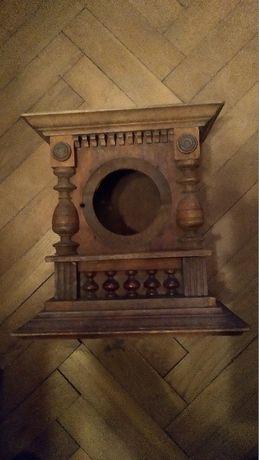 Skrzynka drewniana do zegara kominkowego , cena 450 zł.