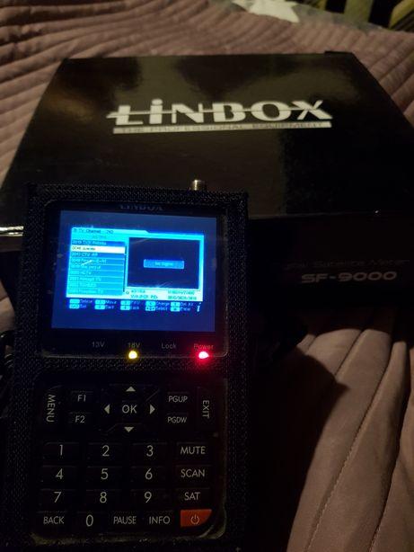 Miernik sygnału satelitarnego Linbox sf-9000 do ustawiania anten satel