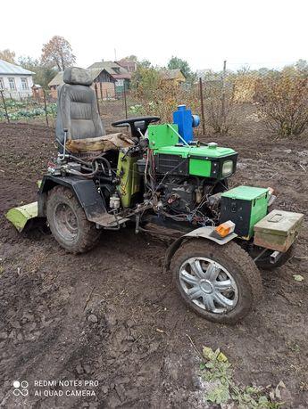 Мини трактор ЗУБР