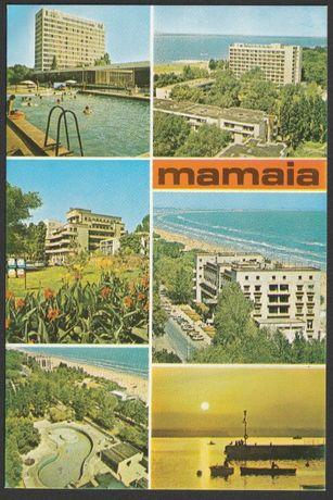 pocztówka - Rumunia - Mamaia - mozaika widoków