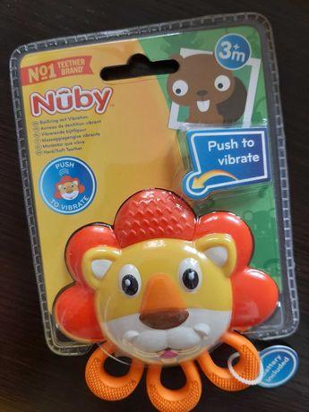 Прорезыватель Лев вибрирующий Nuby