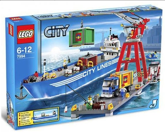 Klocki LEGO City Port 7994