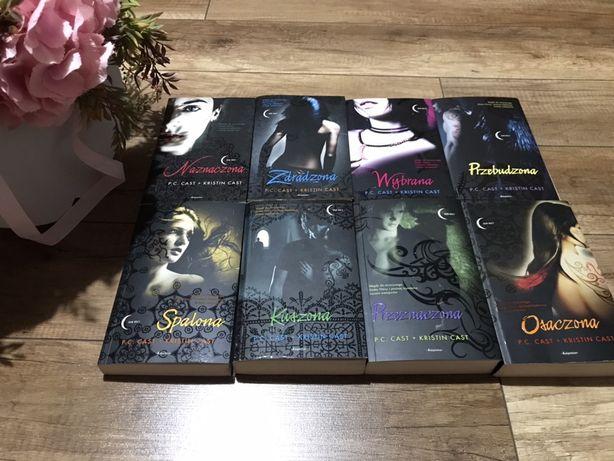 Naznaczona, seria 8 książek, P.C. Cast