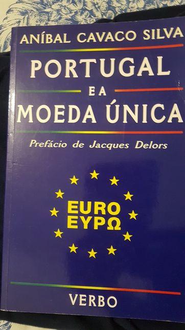 Livro Portugal e a Moeda Unica - Prof. Anibal Cavaco Silva