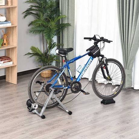 Rolo Bicicleta para treino de ciclismo Ajustável 54,5x42,2x39,1 cm