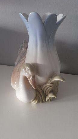 Porcelana wazon sygnowany