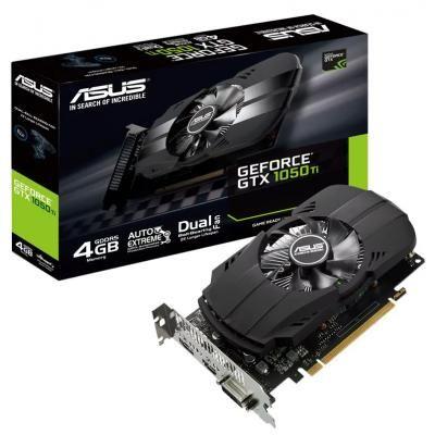 Відеокарта GeForce GTX1050 Ti 4096Mb ASUS (гарантія 3роки!)