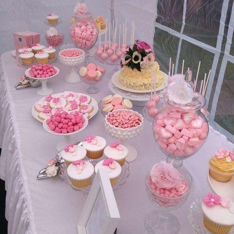 Оформлення свят солодкий стіл кенді бар (candy bar