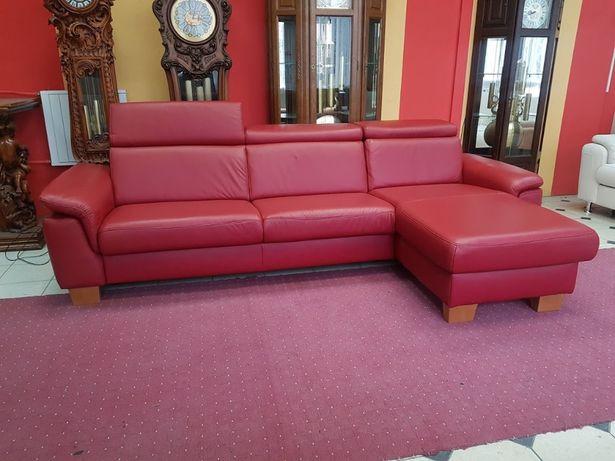 Новый кожаный диван угловой диван кожаная мебель Германия