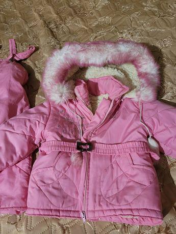 Зимний костюм  2-3 года