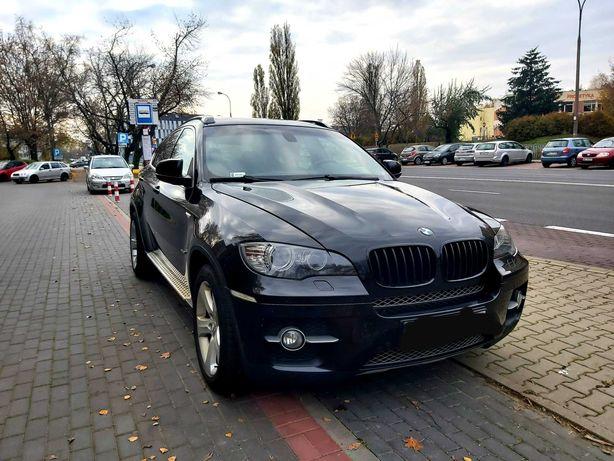 BMW X6 xDrive 306km. Czarna perła. Piękny.