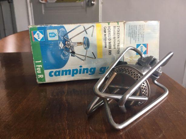 Fogareiro camping gaz