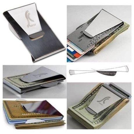 Porta cartões e notas