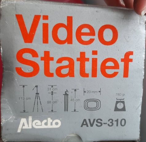 Tripé Camera/video Statief Alecto AVS 310