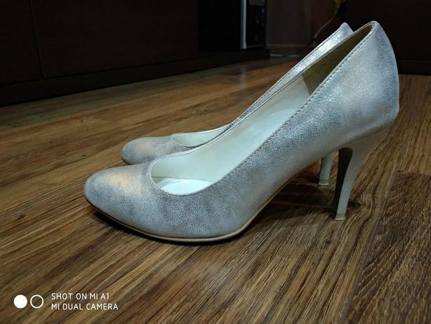 buty damskie - naturalna skóra
