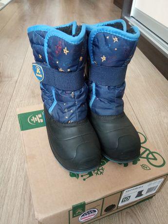 зимние ботинки сноубутсы Kamik Kids' Snowbug4 стелька 17 см