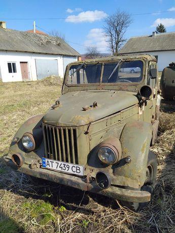 Автомобіль Газ 69.