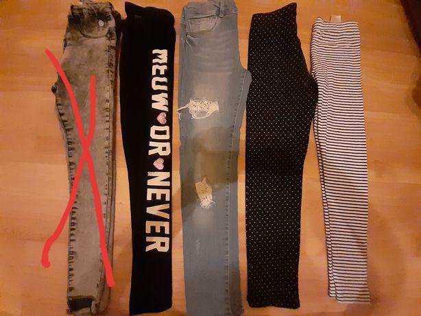 Spodnie rozm.128