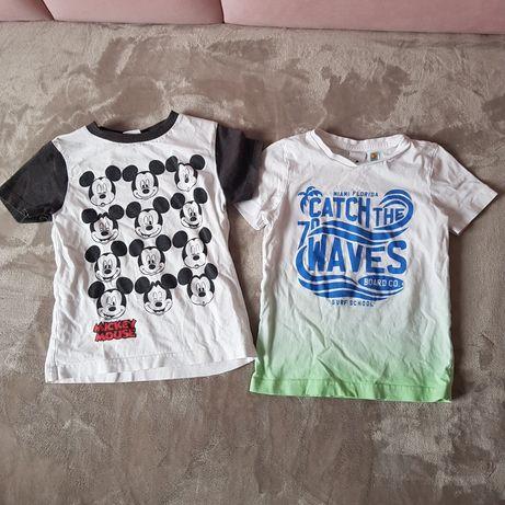 Koszulki krótki rękaw bluzki disney c&a 98-104