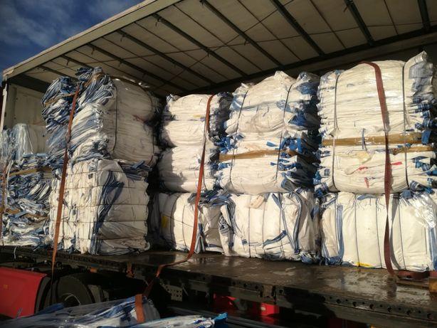 Mocne !!! Worki Big Bag 1000 kg 82/84/189 cm Ładne,Białe