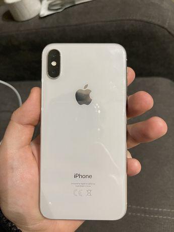 Продам iPhone X 256gb белый, восстановленный