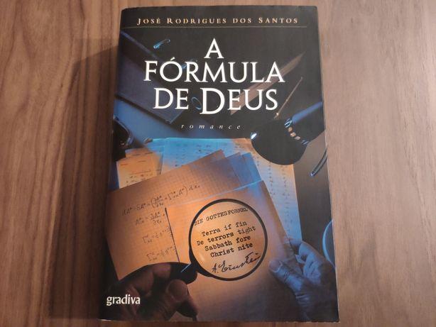 """""""A Fórmula de Deus"""" de José Rodrigues dos Santos"""