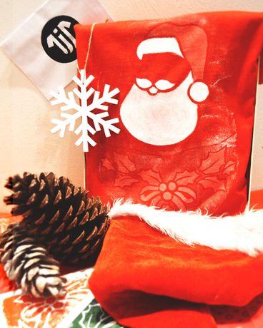 Koszulka Świąteczna Mikołaj czerwona