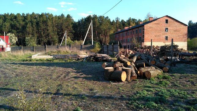 Продам земельну ділянку з фундаментом