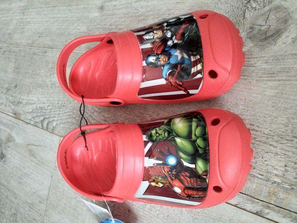 Klapki ala crocsy 32/33 Nowe Avengers