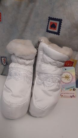 Пінетки черевики чобітки зимове взуття 13 см