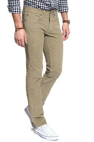 Spodnie męskie sztruksy LEVI'S 511 33/32