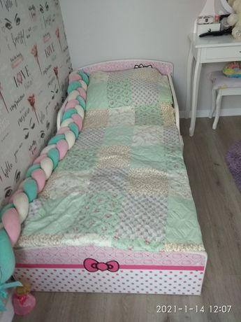 Ліжко для дівчинки хелло Кітті иатрг