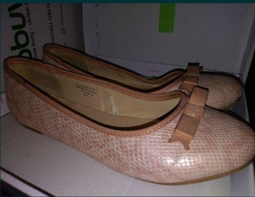 Buciki pantofelki baleriny r. 37