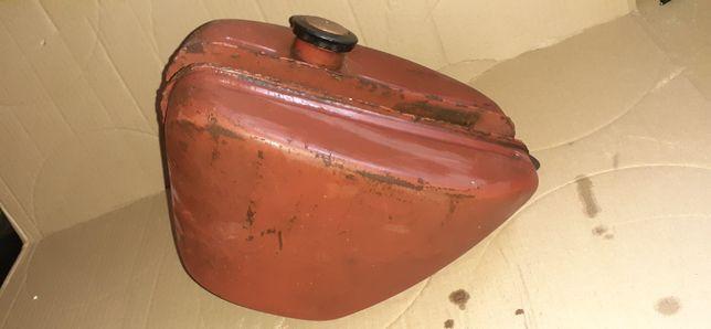 Zbiornik paliwa bak jawa 50 kaczka pancerkaORYGINAŁ z korkiem